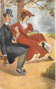 Fantasy, The Bashful Lover, Fancy Couple, Bob. 1908