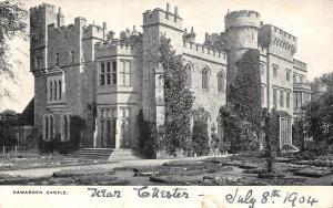 Hawarden Castle Schloss Chateau 1904