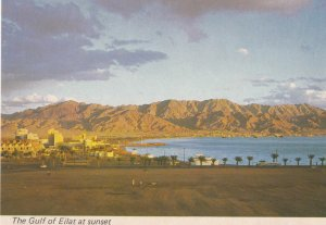 EILAT , Red Sea , Israel , 1950-60s ; The Gulf at sunset