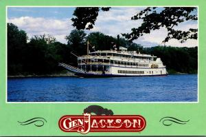 The General Jackson On The Cumberland River