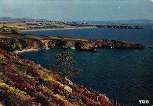 France Sur la Baie de Douarnenez Telgruc Trez Bian Plage Beach Postcard