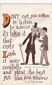 Leonard Don't Cost You Nothin To Listen 1912