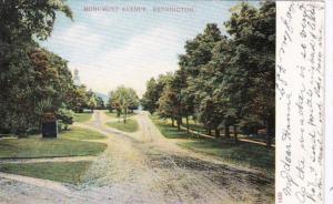 Vermont Bennington Monument Avenue