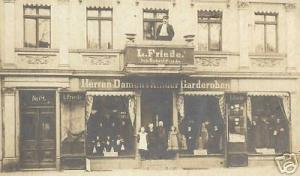germany WITTENBERGE Jewish Clothing Store 1907 JUDAICA