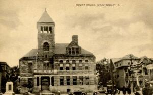 RI - Woonsocket. Courthouse