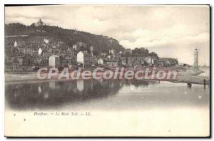 Postcard Old Honfleur Mont Toli