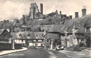 Scotland, UK Old Vintage Antique Post Card Corfe Castle Dorset 1960 Missing S...