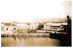 Postcard The Harbour, Harbor, Kingston, Jamaica, Caribbean 1935 51C