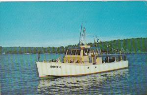 M/V Doris E On Lake Winnipesaukee 1970