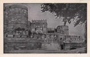India Agra Fort Amar Singh Gate
