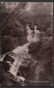Scotland Postcard - The Falls, Rouken Glen   A6594