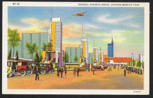Chicago Worlds Fair 1933-1934 General Exhibits Group Chicago Unused c1933