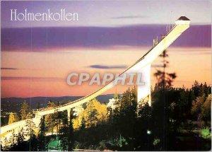 Postcard Modern Holmenkollen Norway Norge