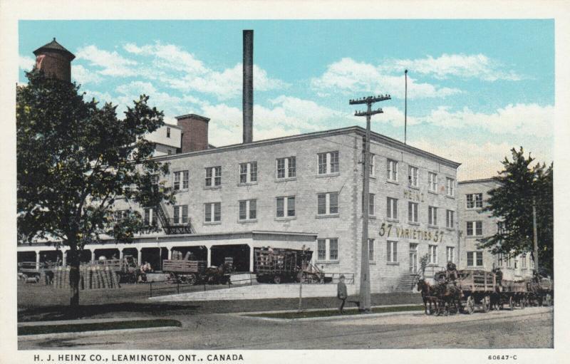LEAMINGTON , Ontario , 1910s ; H.J.Heinz Company