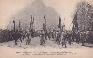 PARIS, France, 1920s; Les Fetes Du Cinquantenaire De La Republique