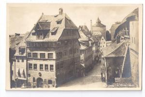Germany Nurnberg Albrecht Durer House RPPC Real Photo c1930