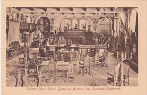 California Riverside Glenwood Mission Inn The Cloister Music Room