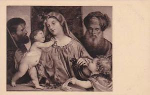 Titian The Madonna Of The Cherries