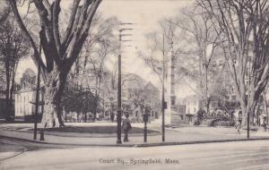 SPRINGFIELD, Massachusetts; Court Square, PU-1909