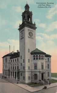 JACKSONVILLE , Florida , 1913 Post Office & Government Building