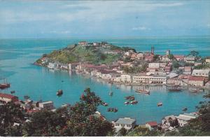 GRENADA, West Indies, 1940-60s; St George's Bird's Eye View