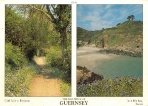 Guernsey Postcard Channel Islands Multi View by D.R Photography Ltd P15