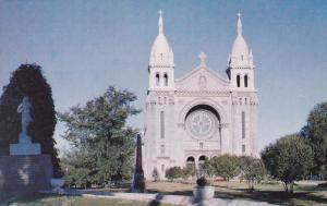 St. Boniface Cathedral , ST. BONIFACE , Manitoba , Canada , 50-60s