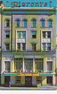 Pieronis Restaurant And Hotel Boston Massachusetts