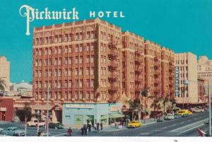 California San Diego The Pickwick Hotel Broadway At First Avenue