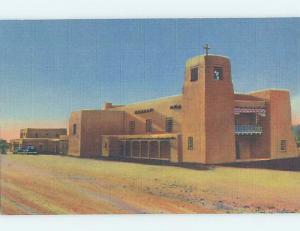 Unused Linen CHURCH SCENE Santa Fe New Mexico NM A8215-12