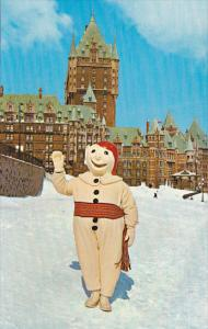 Winter Carnival, Bonhomme Carnival, Chateau Frontenac, QUEBEC CITY, Quebec, C...