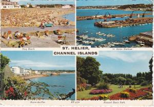 Post Card Channel Islands Jersey St. Helier 4 views