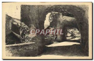 Old Postcard The Great Narrow A Tunnel