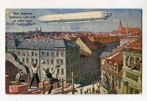 285616 Graf Zeppelin DIRIGIBLE THIELE TSN #920 Graf Zeppelins Luftschiff