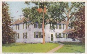Massachusetts Lexington The Buckman Tavern
