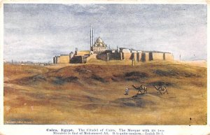 Citadel of Cairo, Mosque Cairo Egypt, Egypte, Africa 1910