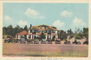WASAGA BEACH , Ontario , Canada , 1930s ; Wasaga Inn & Beach