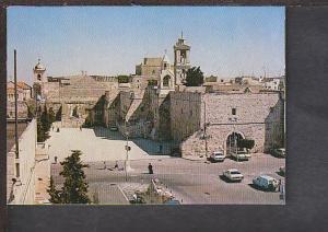 Church of the Nativity Bethlehem Israel Postcard BIN