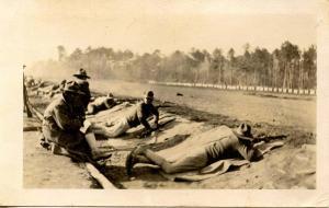 Military - Firing Practice    *RPPC