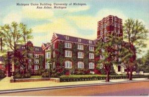 UNIVERSITY OF MICHIGAN UNION BUILDING ANN ARBOR, MI 1946