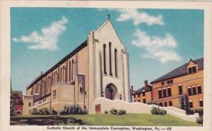 Pennsylvania Washington Catholic Church Of The Immaculate Conception Dexter P...