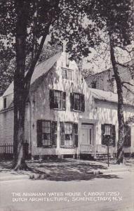 The Abraham Yates House Dutch Architecture Schenectady New York Artvue