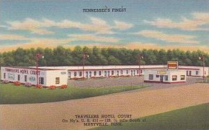 Tennessee Maryville Travelers Hotel Court