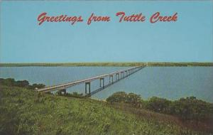 Kansas Junction City Kansas Longest Bridge Crosses TuttleCree Like Near Randolph