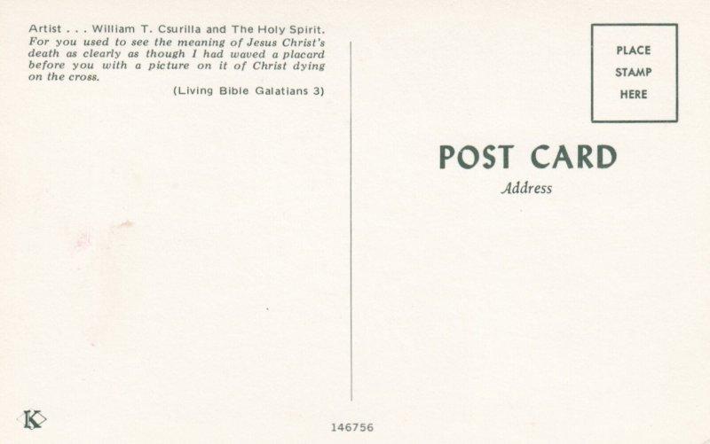 Jesus , 1960s ; Artist William T Csurilla