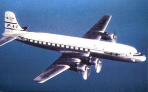Pan American World Airways DC4 - Shown in flight in 1946
