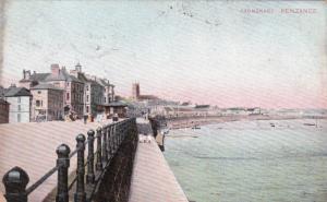 PENZANCE, Cornwall, England, PU-1909; Promenade