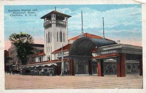 12350 Southern Railway Station and Stonewall Hotel, Charlotte, North Carolina