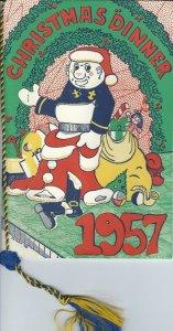 ME-052 - 1957 United States Naval Academy Annapolis Christmas Menu Original