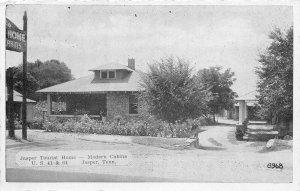 G44/ Jasper Tennessee Postcard c1940s Jasper Tourist Home Cabins